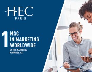 MSc Marketing QS Rankings 2021