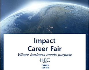 Impact Career Fair 2021 - HEC Paris
