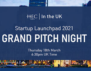 HEC Paris UK Office - Startup Launchpad 2021