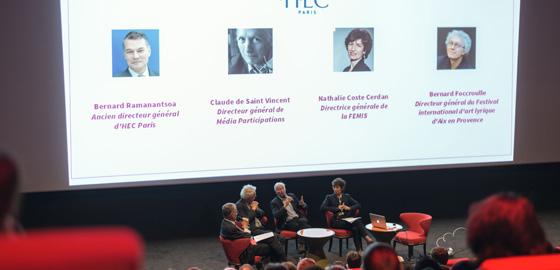 30 ans du mastère Medias, art et création HEC Paris - 2016