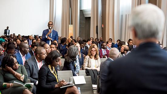 African Leadership Forum - salle