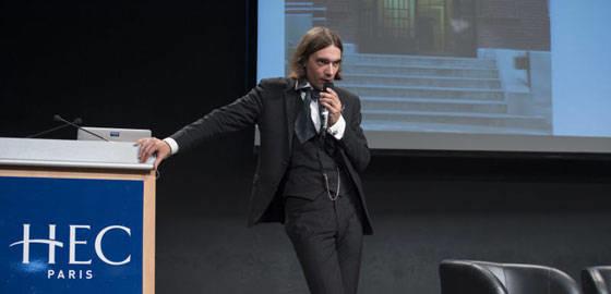 Cédric Villani, conférence Honoris Causa à HEC Paris - 2014