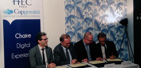 Chaire HEC Paris - Capgemini - Signature 22