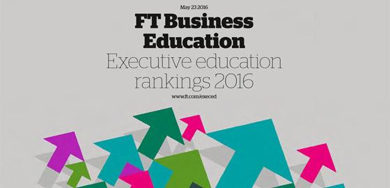 FT Business Education Executive Education Ranking 2016