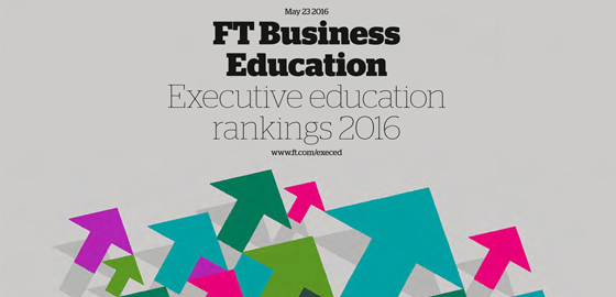 FT Business Education Executive Education Ranking 2016