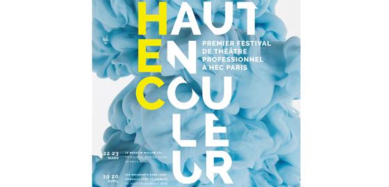 Festival Haut en couleur à HEC Paris - La Poursuite du Bleu