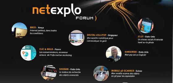 Forum Netexplo 2014 Les innovations numériques qui vont transformer la société et les entreprises - HEC Paris 2014