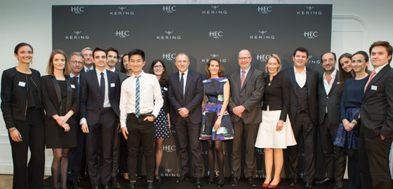 Give-and-take: how students and Kering enjoy a symbiotic relationship throughout luxury certificate - Kering & HEC Paris Luxury Certificate  © N Reitzaum HEC Paris 2016