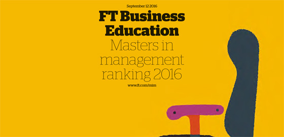 HEC Paris comes out second in FT world ranking for Masters in Management - FT 2016
