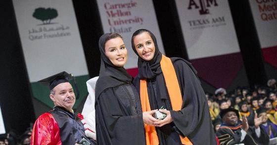 HEC Paris honors class of 2016 ar Qatar Foundation Graduation ceremony