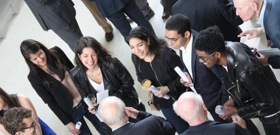 La Fondation HEC organise la première cérémonie de remise de bourses aux étudiants de la Grande École - HEC Paris 2016