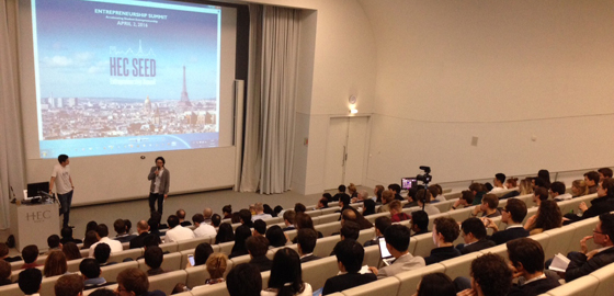 Learning about financing seen as a priority for budding entrepreneurs at HEC Seed 2016 - HEC Paris