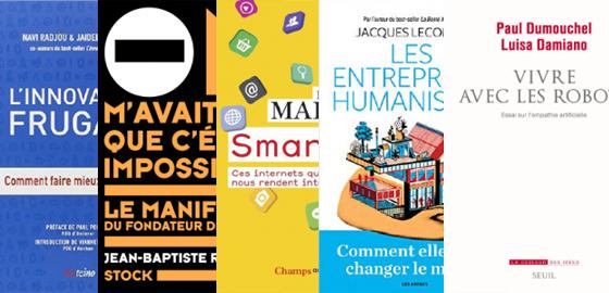 Les 5 ouvrages sélectionnés pour le Prix littéraire de la Fondation ManpowerGroup et HEC Paris 2016