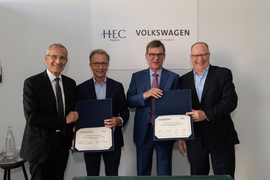 Signature VW France