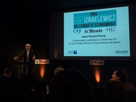 Prix Erik Izraelewicz 2017 - Jean Pisani-Ferry