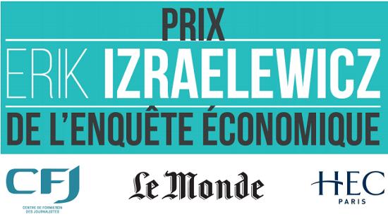 Prix Erik Izraelewicz 2017