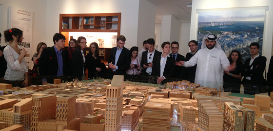 Qatar and its Large Projects: a study ground for HEC Paris Masters Students - Presentation and site visit Msheireb Doha Downtown Project