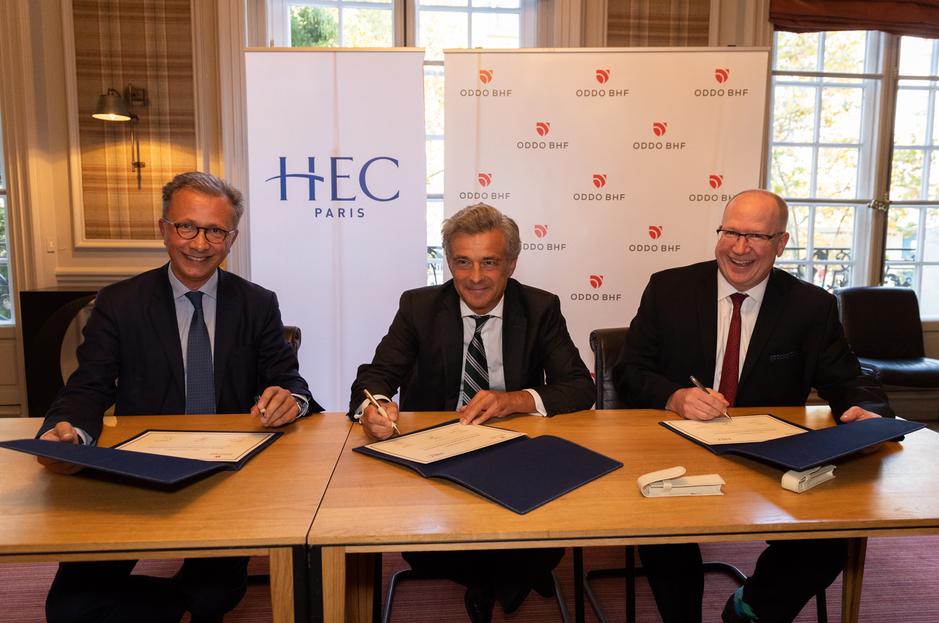 HEC Paris & ODDO-BHF Chair Signature