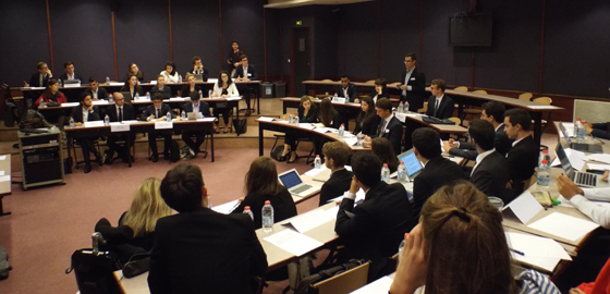 Students Launch HEC's First Diplomacy Week on UN Lines - HEC Paris 2017