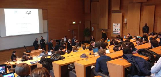 Success-hungry digital entrepreneurs pitch their ideas at HEC Paris - HEC Paris 2016