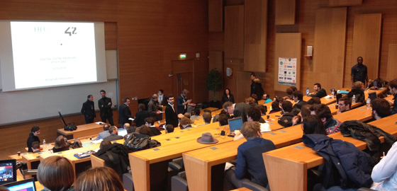 Success-hungry digital entrepreneurs pitch their ideas at HEC Paris - HEC Paris 2016