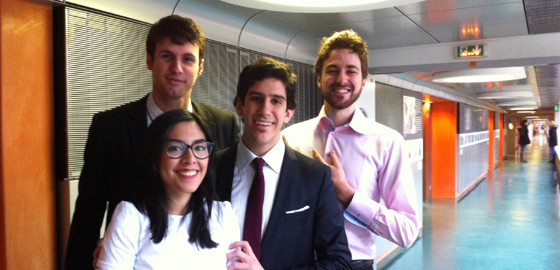 Team from HEC Paris to represent France at the Hult Prize Boston regional finals!