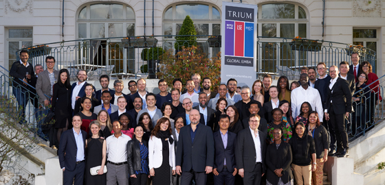 Trium Global EMBA Class of 2018 - HEC Paris April 2018