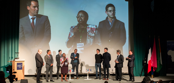 Wairimu Muthike, Business Development Director of ACRE Africa, winner of the inaugural HEC-OCP Award for Best African AgTech Startup - HEC Paris AfricaDays 2018
