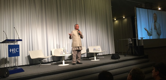 Muhammad Yunus Joins HEC Paris Initiative to Maximize Social Impact in Business