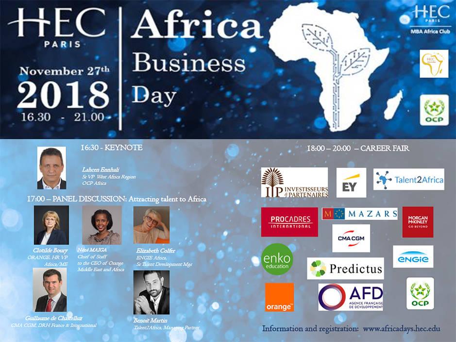 Africa Business Day 2018 - HEC Paris
