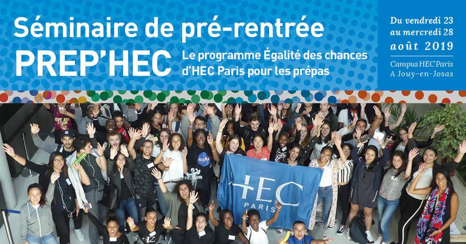 Séminaire PREP'HEC Edition 2019