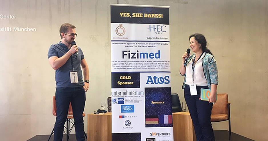 2e forum franco-allemand au féminin - Munich - HEC Paris - Remise prix Yes She Dares