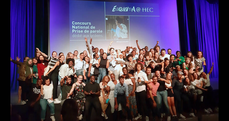 ©HEC Paris - Eloquentia@HEC 2019 - Photo de groupe