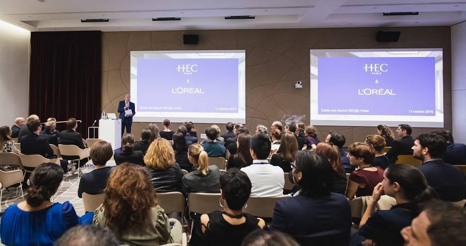 réunion Alumni L'Oréal