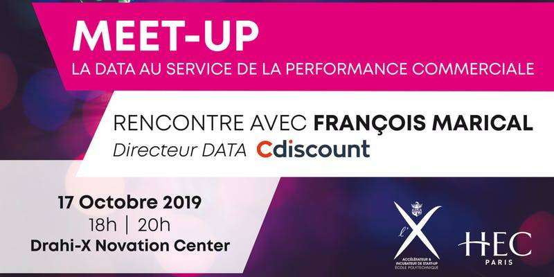 Meetup X HEC - François Marical - C-Discount