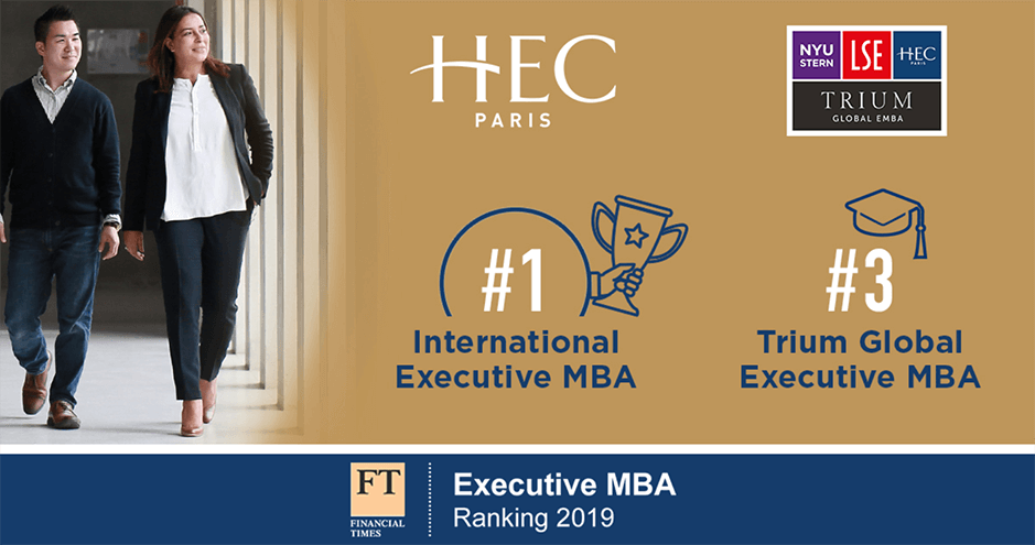 HEC Paris - Executive MBA - Financial Times Ranking