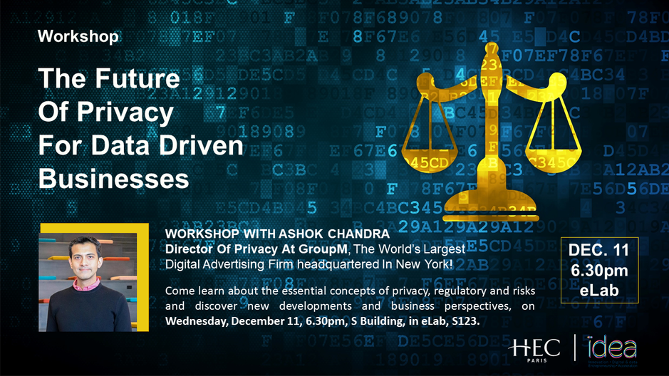 Data Privacy workshop with Ashok Chandra