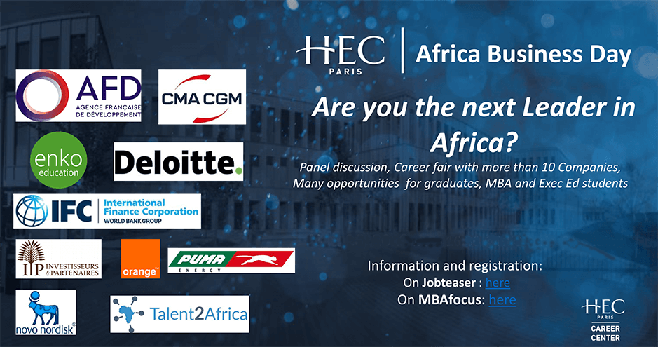 Africa Business Day 2019 - HEC Paris