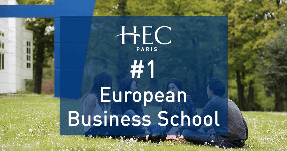HEC Paris #1 European Business School