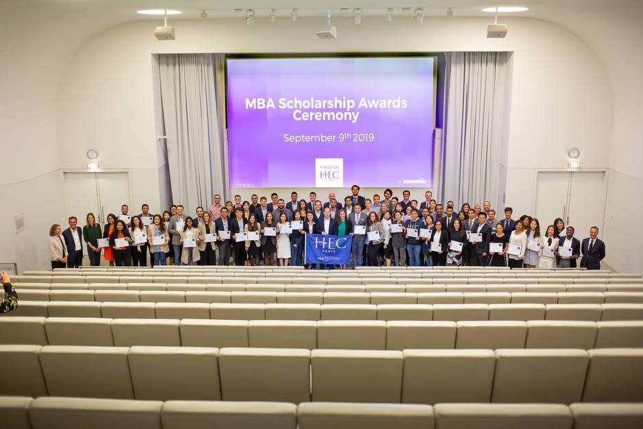 Cérémonie remise de bourses MBA 19