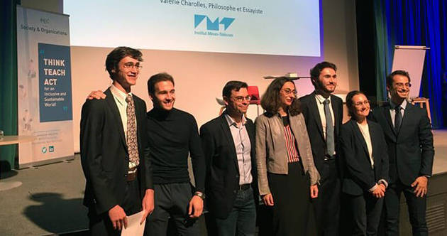 Valérie Charolles 2019  - groupe picture - media