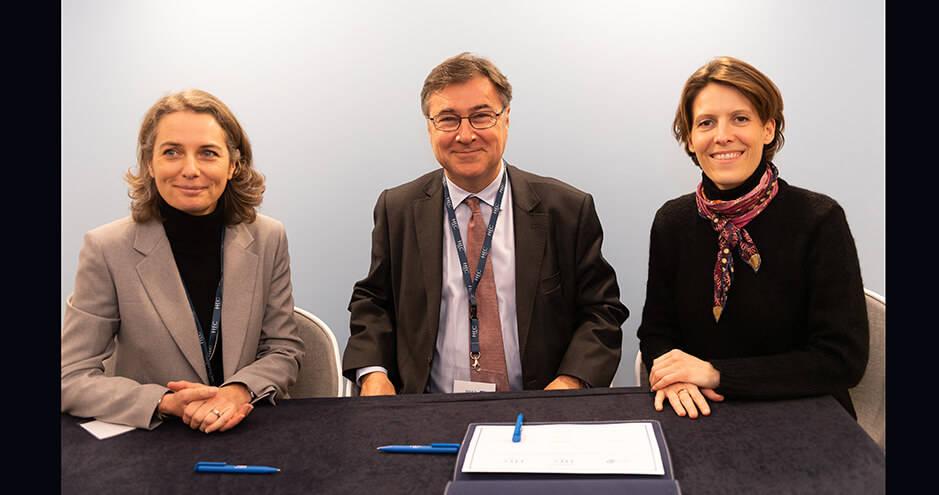 HEC Paris / BRED - 27 janv. 2020 - Delphine Colson, Olivier Klein et Raphaëlle Gautier