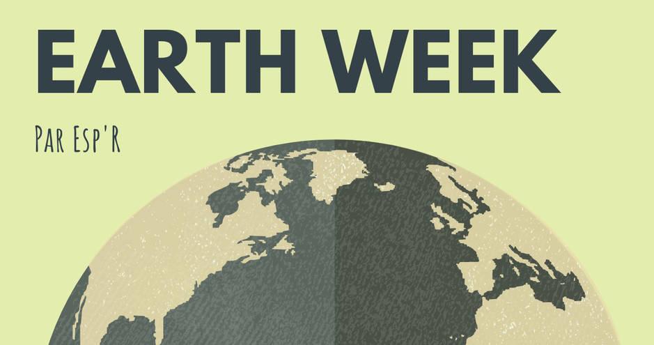 Earth Week - poster