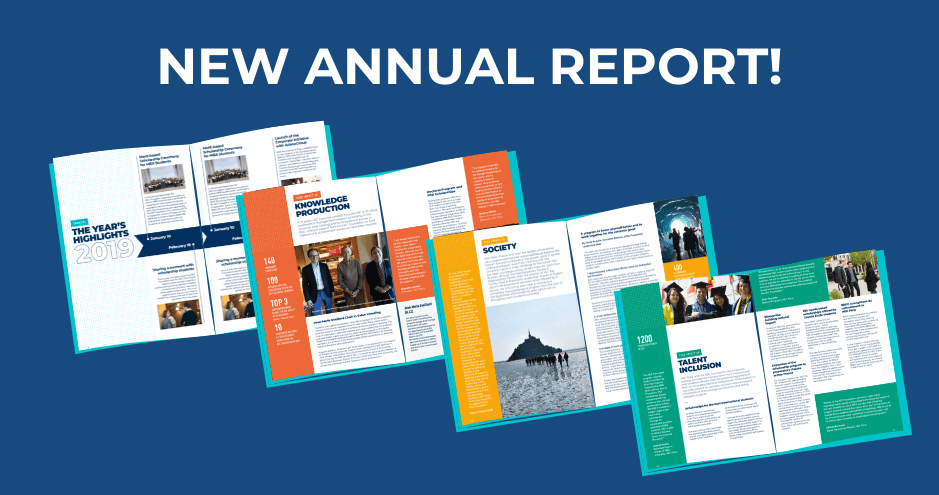 Annual brochure HEC Foundation 2019