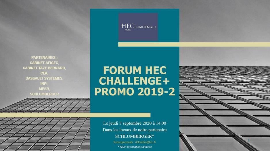 HEC Challenge Plus Forum