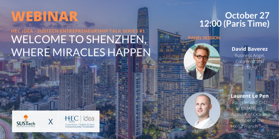 Webinar: Welcome to Shenzhen, where miracles happen -