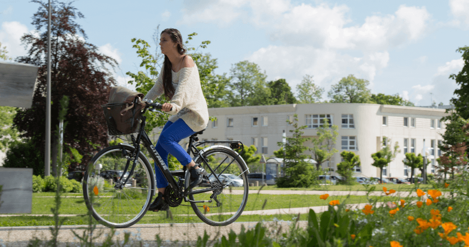 Girl on Bike HECParis