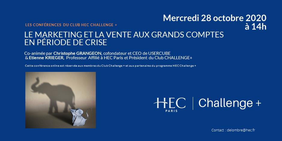 HEC Challenge Plus conference