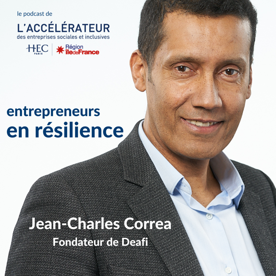 Podcast ACCELERATEUR ESS - episode 2 - Jean-Charles Correa