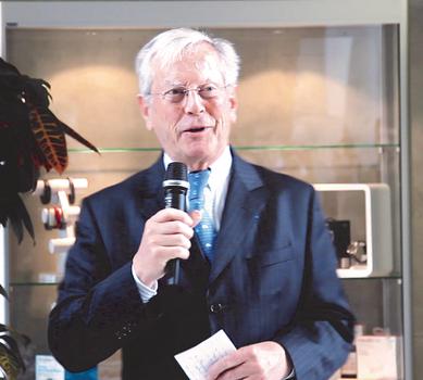 Robert Allemon donateur de la Fondation HEC